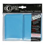 Protèges Cartes Standard  Sleeves Ultra-pro Standard Par 100 Eclipse Bleu Clair Matte