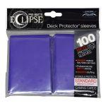 Protèges Cartes Accessoires Sleeves Ultra-pro Standard Par 100 Eclipse Violet Matte