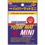 Protèges Cartes Format JAP Yu-Gi-Oh! Kmc - Mini White Hyper Mat (Blanc & Matte par 60)