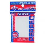 Protèges Cartes Accessoires Kmc - Mini Sleeves - Perfect Size (100 Sleeves) - Pro-Fit