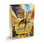 Protèges Cartes Format JAP Yu-Gi-Oh! Sleeves Dragon Shield Mini Gold Matte - par 60