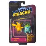 Figurine Pokémon Détective Pikachu - Pikachu et Bulbizarre