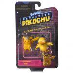 Figurine Pokémon Détective Pikachu - Pikachu et Psykokwak