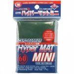 Protèges Cartes Format JAP  Kmc - Mini Green Hyper Mat (Vert & Matte par 60)