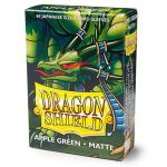 Protèges Cartes Format JAP Yu-Gi-Oh! Sleeves Dragon Shield Mini Apple Green Matte - par 60