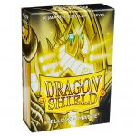 Protèges Cartes Format JAP  Dragon Shield Sleeves Mini Matte - Yellow - Jaune - par 60