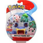 Figurine Pokémon 3 Battle Figure Set - Ramboum - Rondoudou - Bulbizarre