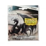 Protèges Cartes Standard  Sleeves Dragon Shield Standard Perfect Fit sideload Smoke- par 100