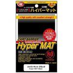 Protèges Cartes Standard  Kmc - Standard Hyper Mat Black ( Noir ) - par 80