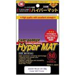 Protèges Cartes Accessoires Kmc - Standard Hyper Mat purple ( violet) - par 80