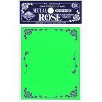 Protèges Cartes Accessoires Kmc - Standard Sleeves - Metal Rose - Vert - par 50