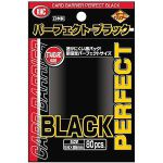 Protèges Cartes Standard  Kmc - Standard Sleeves -Pro-fit  - Perfect Black par 80