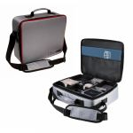Deck Box  Valise - Gaming Case Deluxe Silver/Rouge