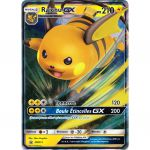 Cartes Spéciales Pokémon Carte Promo SL11.5 Destinées Occultes - Raichu GX SM213