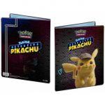 Portfolios Pokémon Détective Pikachu - Pikachu - (10 Feuilles De 9 Cases 180 Cartes)