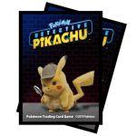 Protèges Cartes Standard Pokémon Deck Protector Ultra Pro - Détective Pikachu - Pikachu Par 65