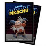 Protèges Cartes Pokémon Deck Protector Ultra Pro - Détective Pikachu - Mr Mime Par 65