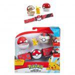 Figurine Pokémon Ceinture de Dresseur avec Poké ball Série 3 - Pikachu