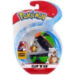 Figurine Pokémon Clip'n Go Poké Ball Série 3 - Osselait + Sombre Ball