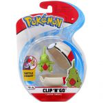Figurine Pokémon Clip'n Go Poké Ball Série 3 - Embrylex + Chrono Ball