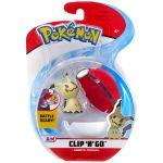 Figurine Pokémon Clip'n Go Poké Ball Série 3 - Mimiqui + Poké Ball