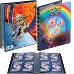 Portfolios Pokémon SL12 - Soleil Et Lune 12 - Eclipse Cosmique - Togepi, Mélo & Toudoudou/Solgaleo & Lunala (10 Feuilles De 4 Cases 80 Cartes)