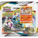Boosters en Français Pokémon Tripack 3 Boosters - SL12 - Soleil Et Lune 12 - Eclipse Cosmique - Victini