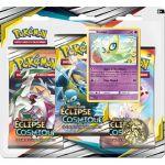 Boosters en Français Pokémon Tripack 3 Boosters - SL12 - Soleil Et Lune 12 - Eclipse Cosmique - Celebi