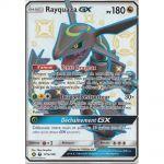 Cartes Spéciales Pokémon Carte Géante Jumbo Rayquaza GX (177a/168)  Full Art Shiny 180 PV