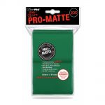 Protèges Cartes Standard  Sleeves Ultra-pro Standard Par 100 Vert Foncé Matte