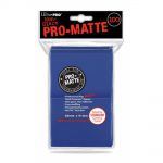 Protèges Cartes Standard  Sleeves Ultra-pro Standard Par 100 Bleu Foncé Matte
