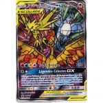 Cartes Spéciales Pokémon SL11.5 - Destinées Occultes - Promo - Sulfura, Électhor et Artikodin GX SM210