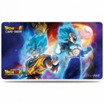 Tapis de Jeu Dragon Ball Super Tapis De Jeu - Dragon Ball Vegeta, Goku & Broly  Accompagné D'un Tube De Protection