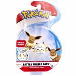 Figurine Pokémon 2 Battle Figure Pack - Togedemaru & Évoli