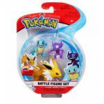 Figurine Pokémon 3 Battle Figure Set - Voltali, Carapuce & Ténéfix