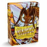 Protèges Cartes Format JAP  Sleeves Dragon Shield Mini Orange - Classic - par 60