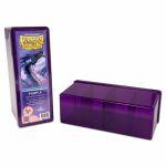Boite de Rangement  4 Compartiments - Violet