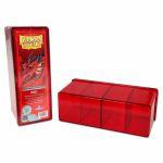 Boite de Rangement  4 Compartiments - Rouge