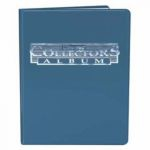 Portfolio  Portfolio A5 - 10 Pages De 4 Cases - Bleu
