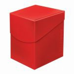 Deck Box  Deck Box Ultrapro Eclipse 100+ (grande Taille) - Rouge