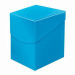 Deck Box  Deck Box Ultrapro Eclipse 100+ (grande Taille) - Bleu Mc