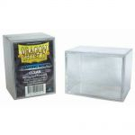 Deck Box  Dragon Shield Gaming Box - Rigide Transparent - 100 Cartes