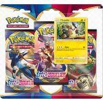 Boosters en Français Pokémon Tripack 3 Boosters - EB01 - Épée et Bouclier 1 - Morpeko