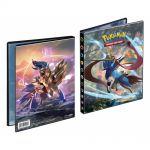 Portfolios Pokémon EB01 - Épée et Bouclier - Zacian & Zamazenta (10 Feuilles De 4 Cases 80 Cartes)