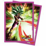 Protèges Cartes Standard Dragon Ball Super Kafla, Énergie fulgurante (Sleeves par 65ct)