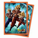 Protèges Cartes Standard Dragon Ball Super Son Gohan et Son Goten, Liens familiaux (Sleeves par 65ct)