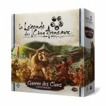 Deck-Building Aventure La Légende des Cinq Anneaux JCE : Guerre des Clans
