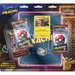 Boosters en Français Pokémon Détective Pikachu - Pack 3 Boosters + Portfolio