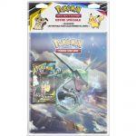 Portfolios Pokémon Rayquaza - (10 Feuilles De 9 Cases 180 Cartes) + 1 Booster SL9 Duo de Choc