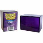 Deck Box  Dragon Shield Gaming Box - Rigide Violet - 100 Cartes